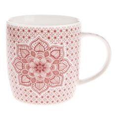 Country Rose porcelánový hrnek s mandalou 360 ml