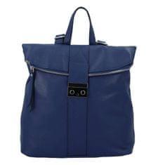 Delami Vera Pelle Krásny dámsky kožený batôžtek Sebastien, modrý
