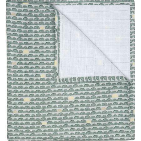 Luma Muslin pelenka XXL, 110x110 cm, Bow Deco