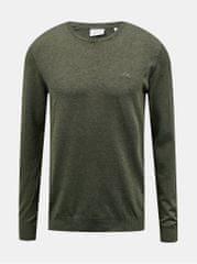 Lindbergh khaki pánský svetr