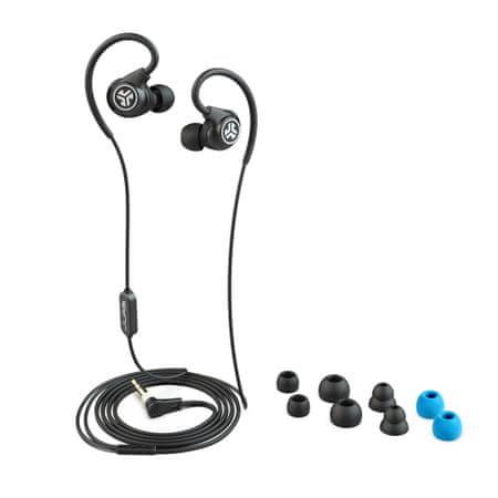Jlab Fit Sport 3 Fitness žične slušalke, črne