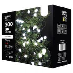 EMOS svjetlosni lanac, 300 LED – kuglice, 30 m, hladna bijela, timer