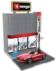 BBurago 1:43 Bburago city, Car Dealer salon automobila