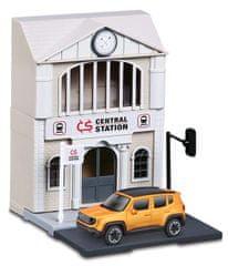 BBurago 1:43 Bburago city, Train Station željeznička postaja