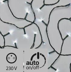 Emos Řetěz s časovačem 80 LED 8+5 m denní bílá