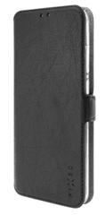 FIXED cienkie etui typu książka Topic do Samsung Galaxy A20s, czarne FIXTOP-593-BK
