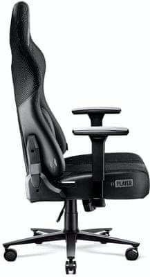 Gaming kolečková židle Diablo-Chairs X-Player 2.0, nastavitelné opěradlo područky