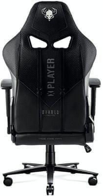 Gaming kolečková židle Diablo-Chairs X-Player 2.0,nastavitelné opěradlo područky