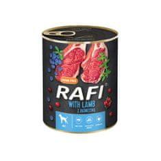 RAFI paštéta s jahnacím mäsom, čučoriedkami a brusnicami 800g