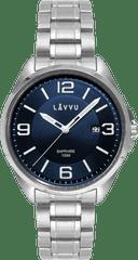 LAVVU Pánské hodinky se safírovým sklem LAVVU HERNING Blue