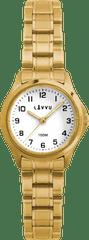 LAVVU Dámské hodinky LAVVU ARENDAL Original Gold s vodotěsností 100M