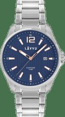 LAVVU Pánské hodinky se safírovým sklem LAVVU NORDKAPP Blue
