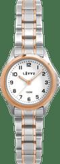 LAVVU Dámské hodinky LAVVU ARENDAL Original Rose Gold Bicolor s vodotěsností 100M