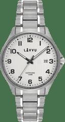 LAVVU Titanové hodinky se safírovým sklem LAVVU TITANIUM LILLEHAMMER Silver