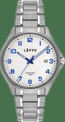 LAVVU Titanové hodinky se safírovým sklem LAVVU TITANIUM LILLEHAMMER White