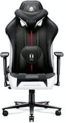 Diablo Chairs X-Player 2.0, XL, černá/bílá (5902560337785)