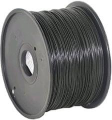 Gembird tlačová struna, ABS, 1,75mm, 1kg, čierna (3DP-ABS1.75-01-BK)