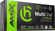 Amix Nutrition ChelaZone MultiChel Ca + Mg + Zn 90kapsúl
