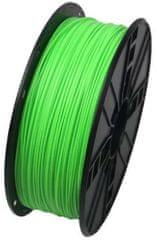 Gembird tlačová struna, ABS, 1,75mm, 1kg, fluorescenčná zelená (3DP-ABS1.75-01-FG)