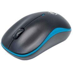 Manhattan Success bežični optički miš, crno / plavi