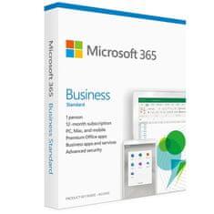 Microsoft 365 Business Standard programska oprema, 1-letna naročnina, SLO