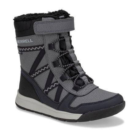 Merrell otroški čevlji Snow Crush 2.0 Waterproof Kids MK263125, 33, sivi