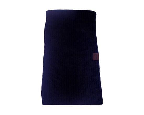 ORSI Zimní šála dětská pletená 18x115 tmavě modrá