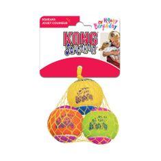 KONG SqueakAir Birthday lopta za pse,M, različite boje
