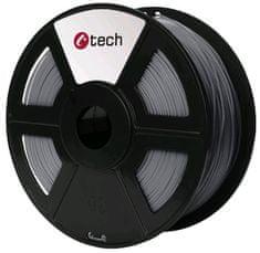 C-Tech tlačiarenská struna, PETG, 1,75mm, 1kg, strieborná (3DF-PETG1.75-S)
