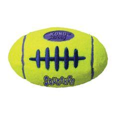 KONG AirDog Squeaker igrača za pse, lopta, M, žuta