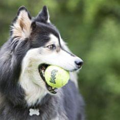 KONG SqueakAir lopta za pse, M, žuta, 1 kom