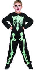 MaDe Karnevalska odjeća - kostur koji svijetli u mraku