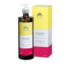 Schupp Aromatický masážny olej, Ibištek Citrón, 500 ml