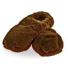 Marvida Hrejivé papuče de Luxe - hnedé M