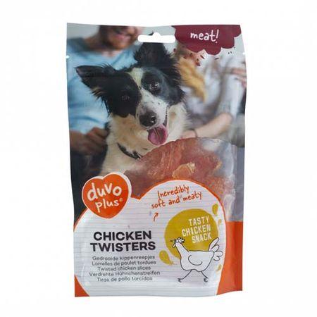 Duvo+ Meat! Puha jutalomfalat csirkehússal 80g -szeletek