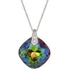 Preciosa Briljantna ogrlica iz vrtnic Vitrail Medium 6011 41 (veriga, obesek) srebro 925/1000