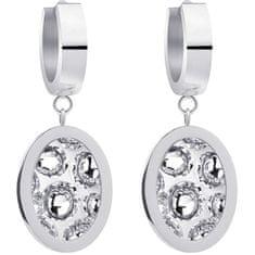 Preciosa Ocelové náušnice s třpytivými krystaly Idared 7362 00