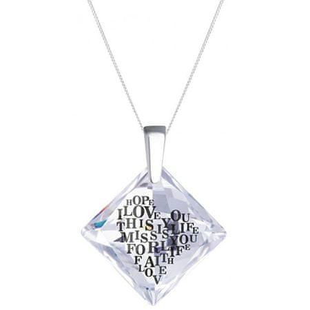 Preciosa Libi kristály nyaklánc 6061 00 ezüst 925/1000