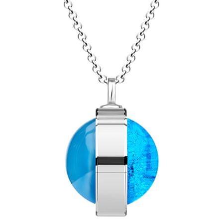 Preciosa Unikalny Srebrny Naszyjnik Singularis Akva 6116 67 srebro 925/1000