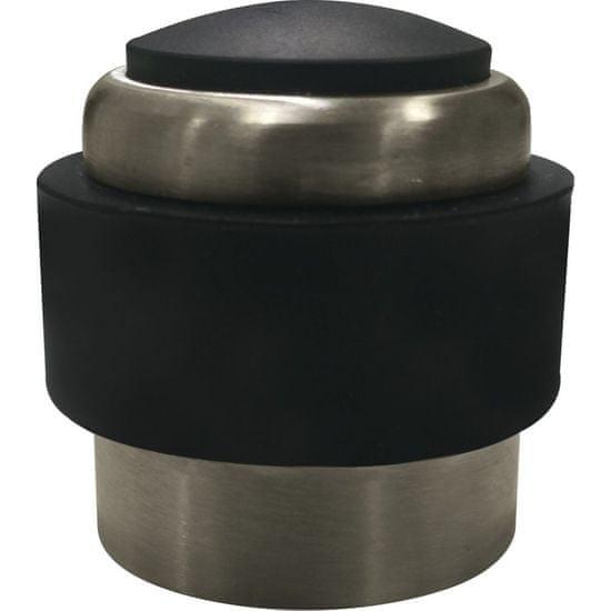 MARCHESI Dveřní doraz podlahový/na stěnu, ø 35 mm, černá