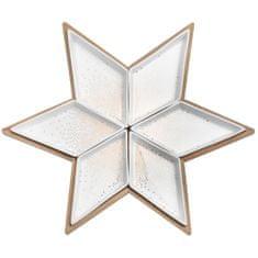 Decor By Glassor Sada mističek ve tvaru vánoční hvězdy