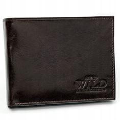 Always Wild Pánská kožená peněženka Jack, hnědá