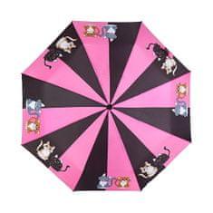 Albi Női mechanikus összecsukható esernyő - Macska