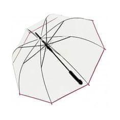 Doppler Damski parasol wyrzucający stick Hit Long Automatic transparent Glocke 77354B 05