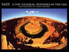 Tomáš Harabiš: Kalendář 13 TOP Natural Wonders of the USA 2021-2022/dvouletý kalendář
