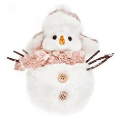 DARKA Sněhulák s růžovou šálou 265006