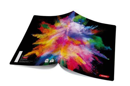 Target bilježnica Rainbow, A4, crte, 10/1 (26442)