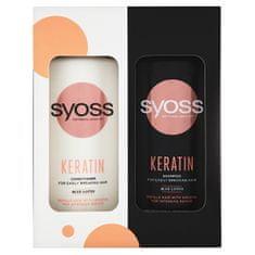 Syoss Darčeková sada Premium Window Box pre ľahko sa lámajúce vlasy ( Keratin Care )