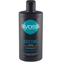 Syoss Hydratačný šampón pre suché a slabé vlasy Moisture (Shampoo)