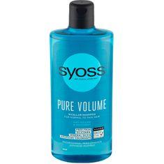 Syoss Micelárny šampón pre objem normálnych až jemných vlasov Pure Volume (Micellar Shampoo)